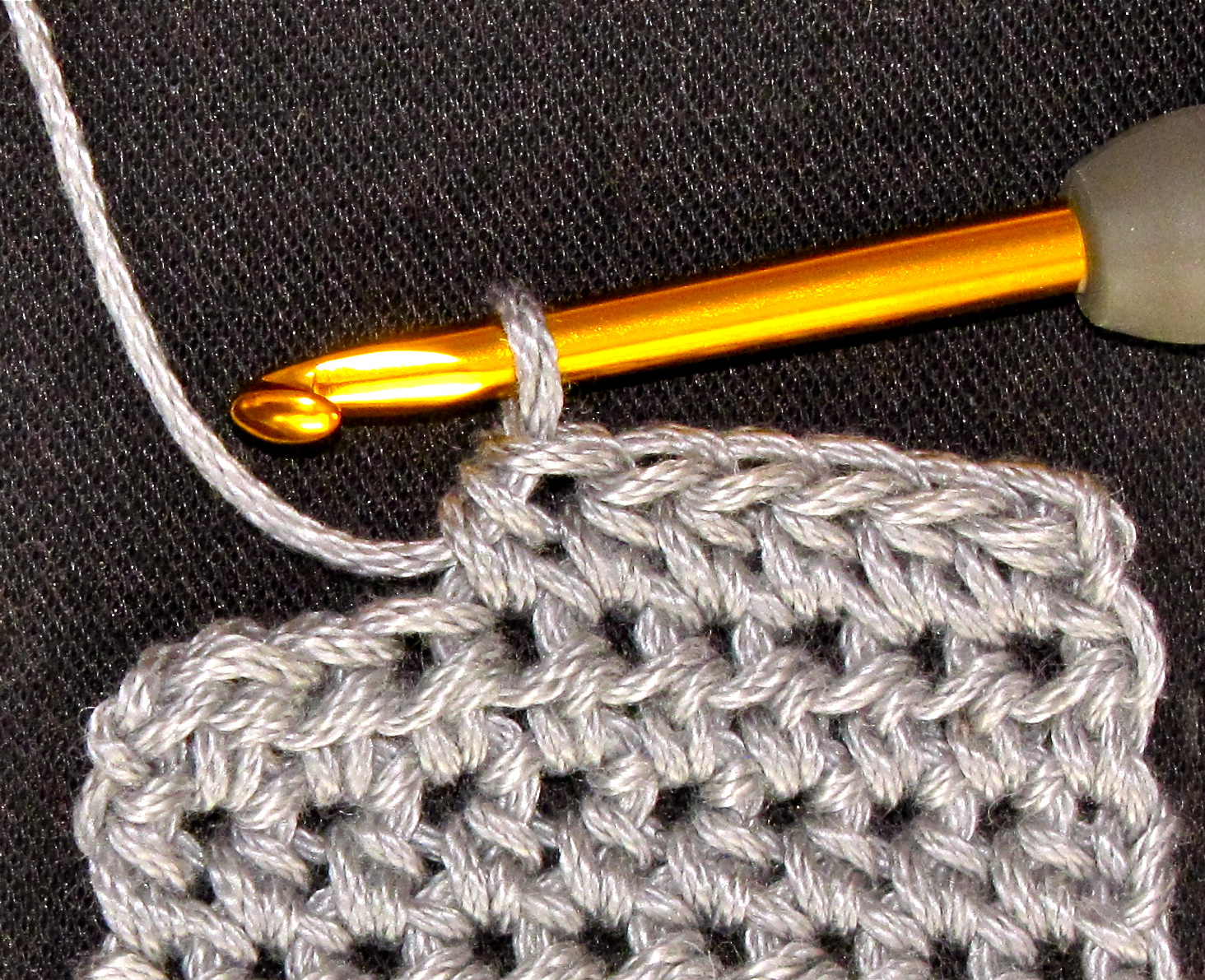 Crochet Stitches Hdc : ... Crochet Pattern Companion: That Tricky Half Double Crochet Stitch (hdc