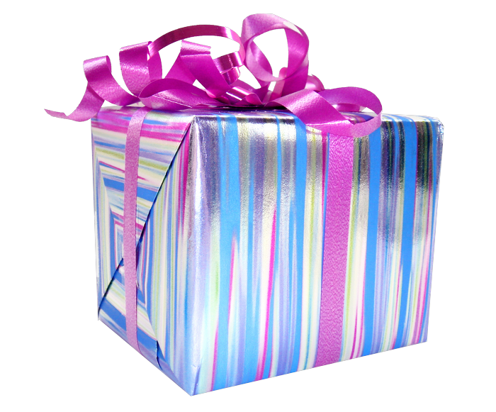regalo con cinta