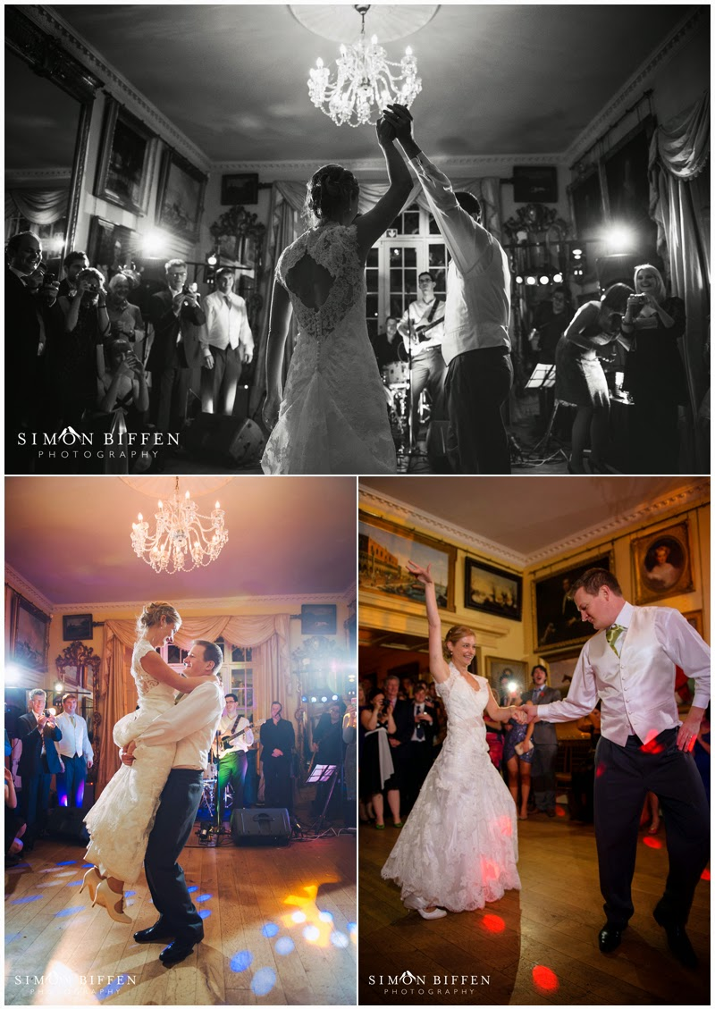 First dance at Maunsel House
