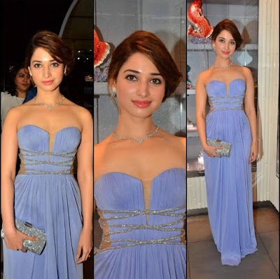Tamannaah Hot Pics At Swarovski Light UP Your Life Event At Palladium Mall.