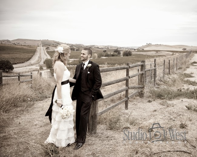 Silver Horse Winery - San Luis Obispo Wedding Photographer - San Miguel Wedding Photographer - Studio 101 West
