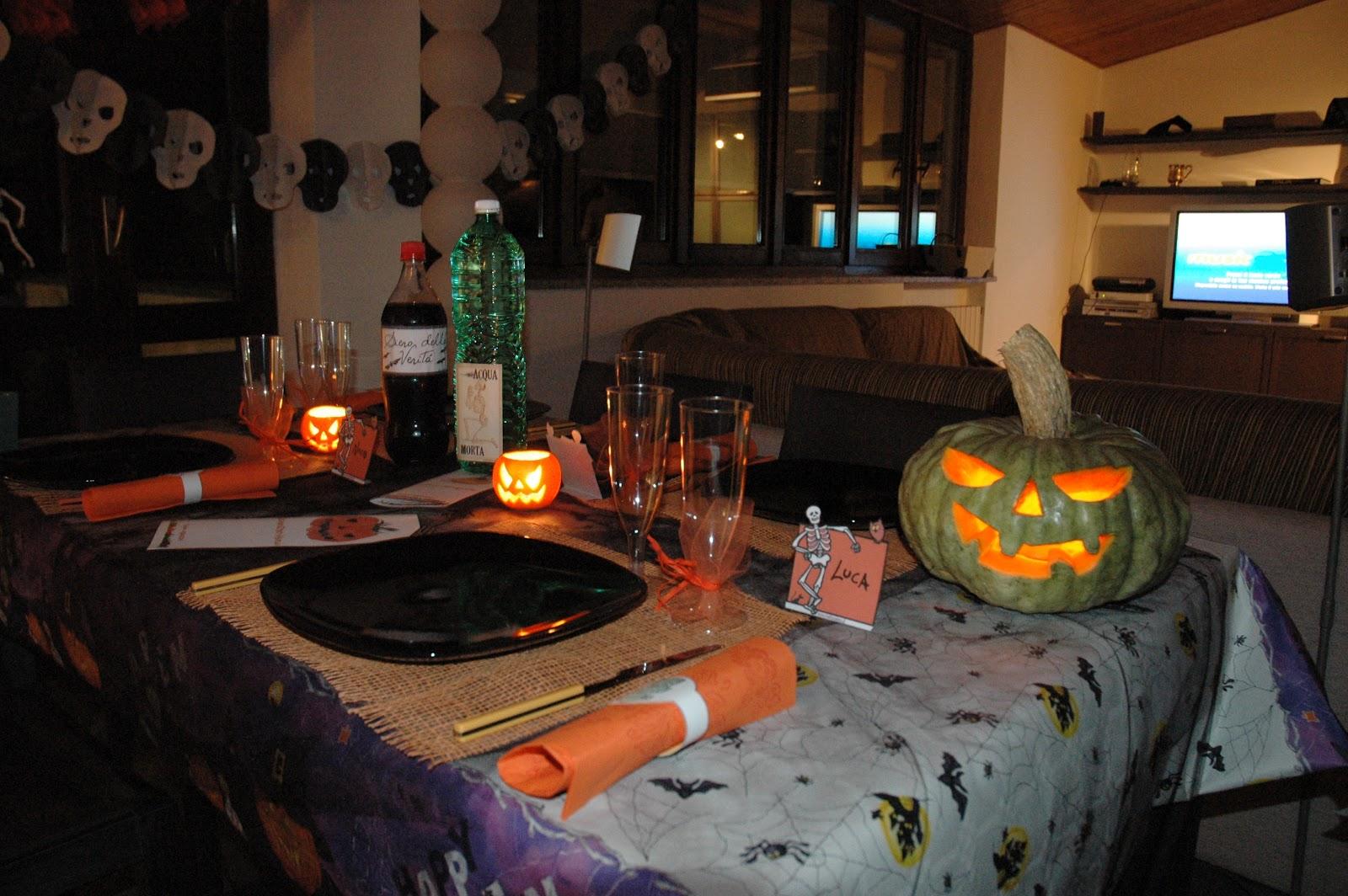 Nina 39 s diary halloween decorazioni da incubo for Decorazioni halloween