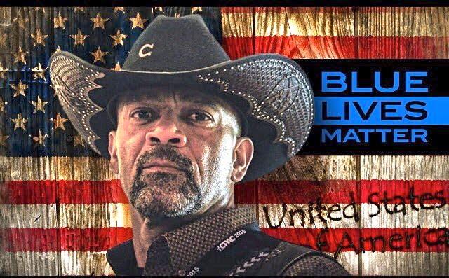 """Blue Lives Matter""  Sheriff David Clarke"