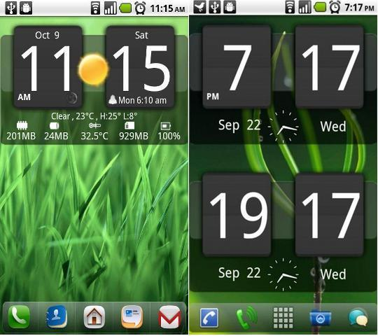 Htc Clock Android
