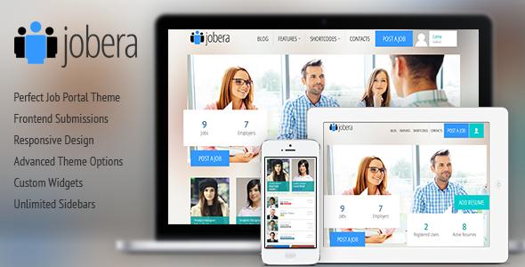 Job WordPress Themes Best Job Portal WordPress Theme 2014 | My Webtricks