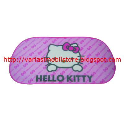 Penutup Kaca Kawat Lipat Kitty Pink