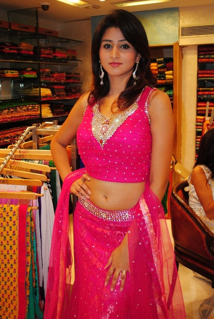 Hyderabad New Sexy Model Shamili Cute Navel Show hot images