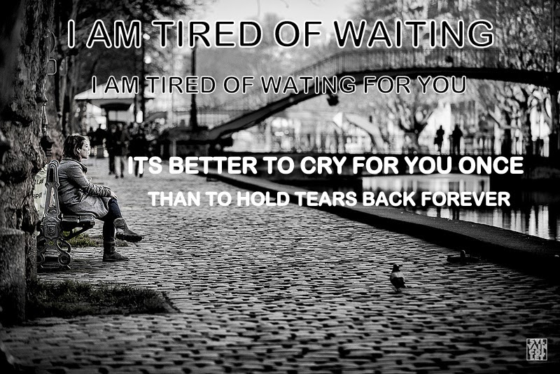 Waiting Alone Sad Quotes # 2 ~ shubhz Quotes