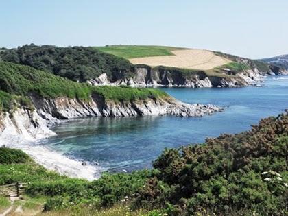 South coast of Cornwall