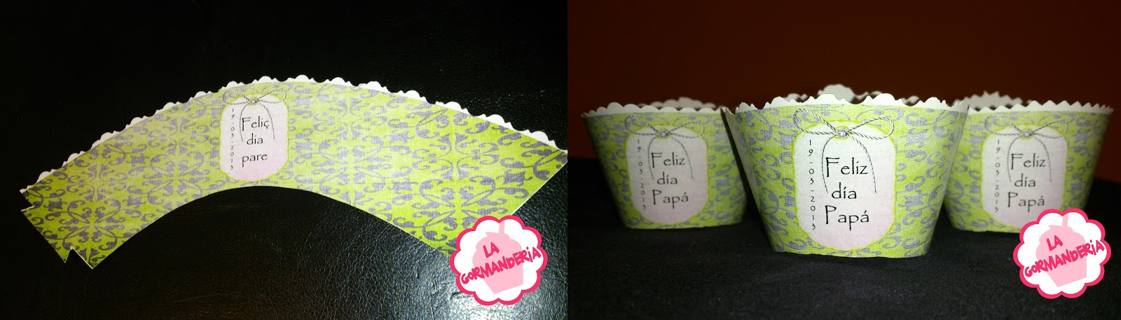 wrappers cupcake psd