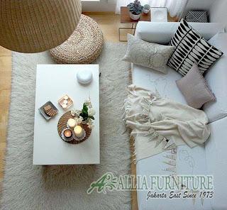 interior penambah ruang tamu mungil minimalis