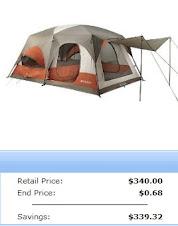 A 68 Cent Tent??