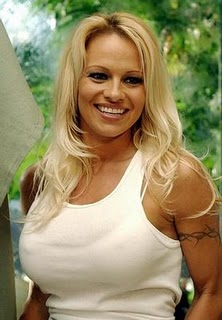 Barbed Wire Armband Tattoo - Pamela Anderson Tattoos