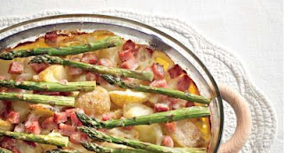 Potato And  Ham Bake