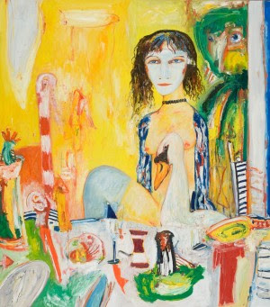 John Bellany , Leda and the Swan, 1998