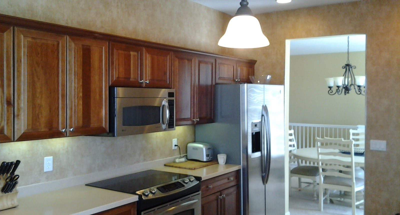 Upgraded kitchen and appliances