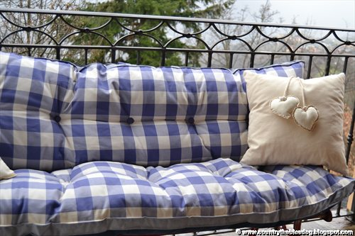 country the blue dog sartoria d 39 interni cuscini per