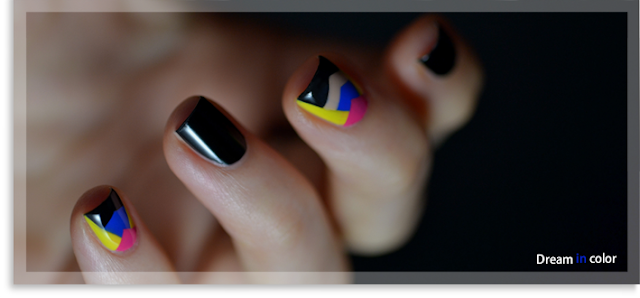 Fashion nails geometric