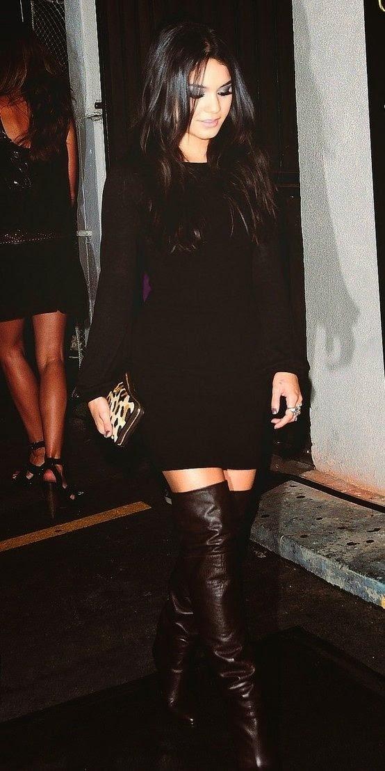 Tendência  moda mistura cor preta e castanha