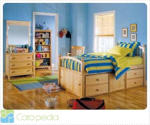 10 gambar desain kamar tidur anak model rumah minimalis