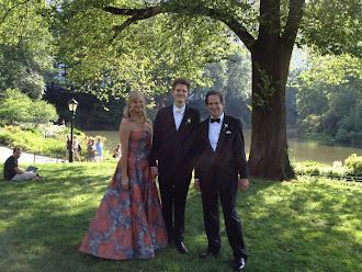 Evan's wedding day