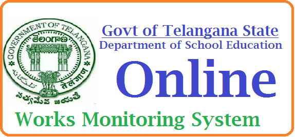 TS DSE Web portal for Online Works Monitoring System | dsewms.cgg.gov.in from DSE Telangana | School Infrastructure Information in Telangana from Directorate of School Education DSE | High Schools Online Works Monitoring System | www.dsewms.cgg.gov.in | Directorate of School Education of Telangana State On-Line Works Monitoring System website/Web portal launched HMs have to access URL http://dsewms.cgg.gov.in/login.do  http://www.tsteachers.in/2016/01/ts-dse-web-portal-for-online-works-monitoring-system-dsewms.html