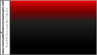 Listrado Vermelho e Preto por R$3,73