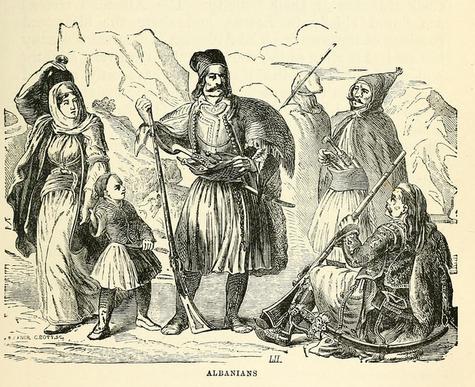 Albanesen-Arnauten-Albanians