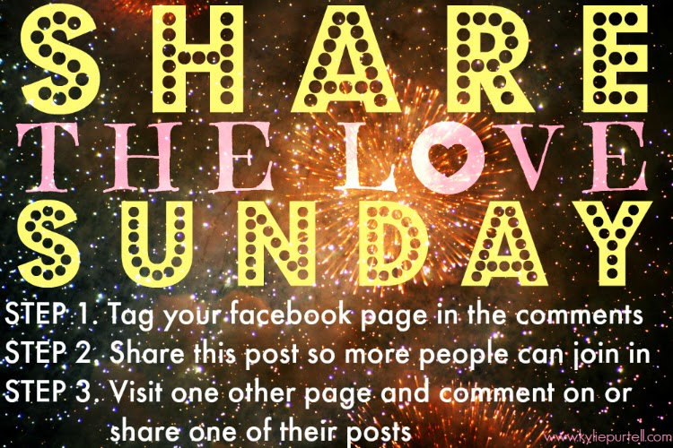 caring is sharing, share the love sunday