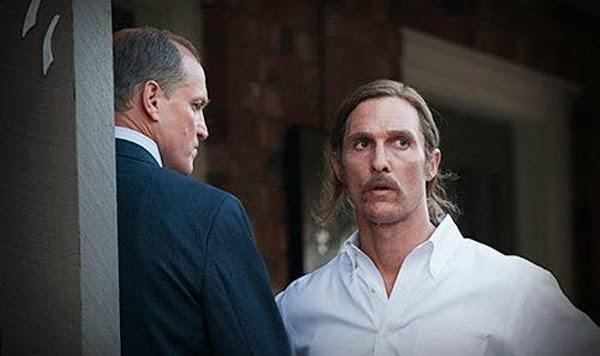 Woody Harrelson y Matthew McConaughey en True Detective (escenas 2012)