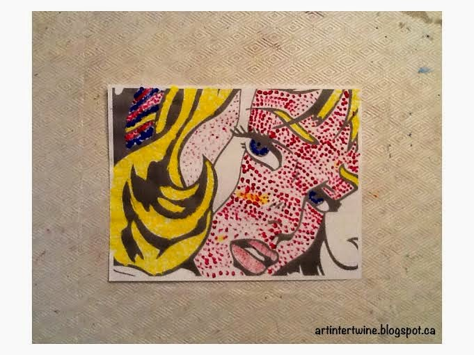 Roy Lichtenstein Girl With Hair Ribbon - Art Intertwine