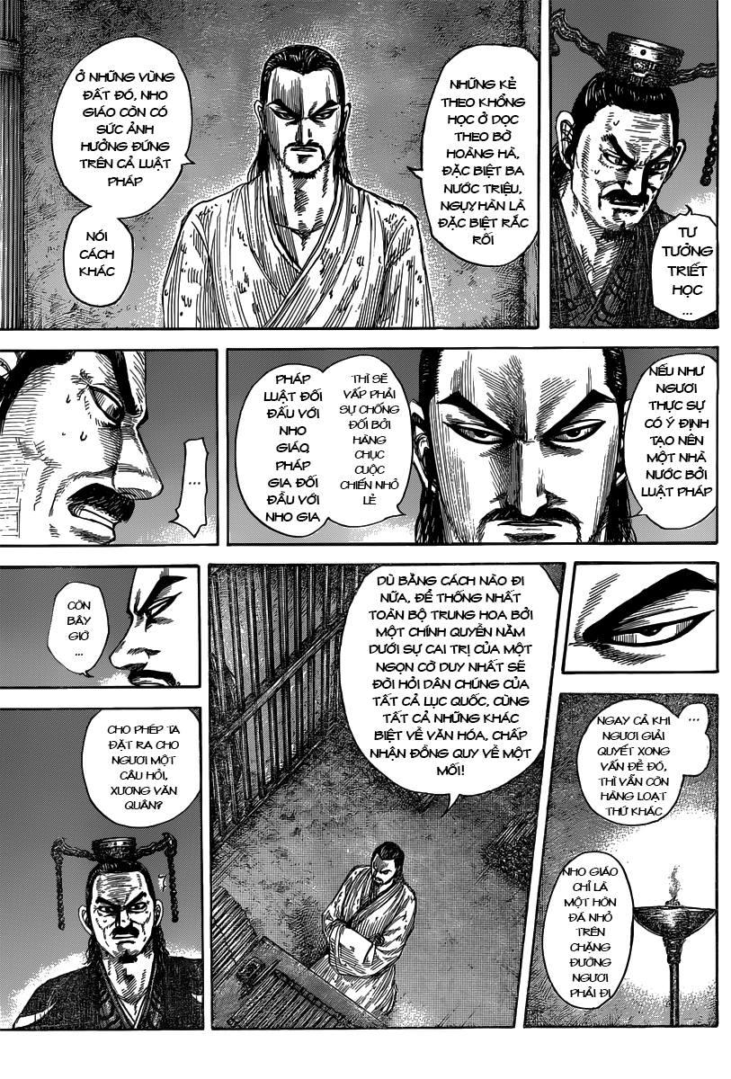Kingdom – Vương Giả Thiên Hạ chap 494 Trang 15
