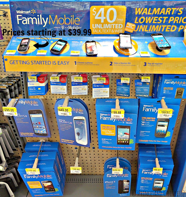Family Mobile Plan Phone Choices including the Hot Galaxy and iPhone 5 #FamilyMobileSaves #Shop