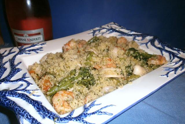 cuscus pesce e verdure
