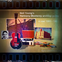 Neil Young - Harmony Monterey archtop 1960 - 1961