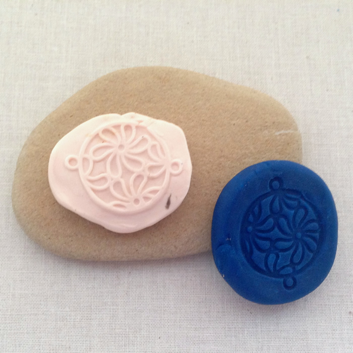 Polymer clay molds at Lisa Yang's Jewelry Blog