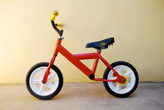 vélo devenu draisienne