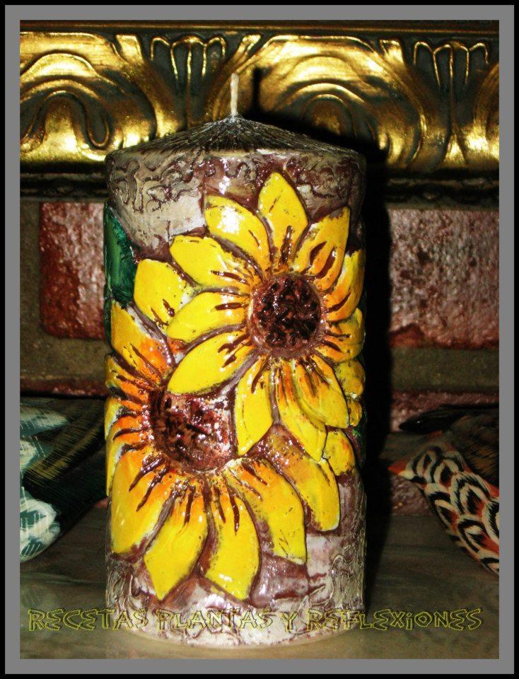 Recetas plantas y reflexiones velas talladas - Velas talladas ...