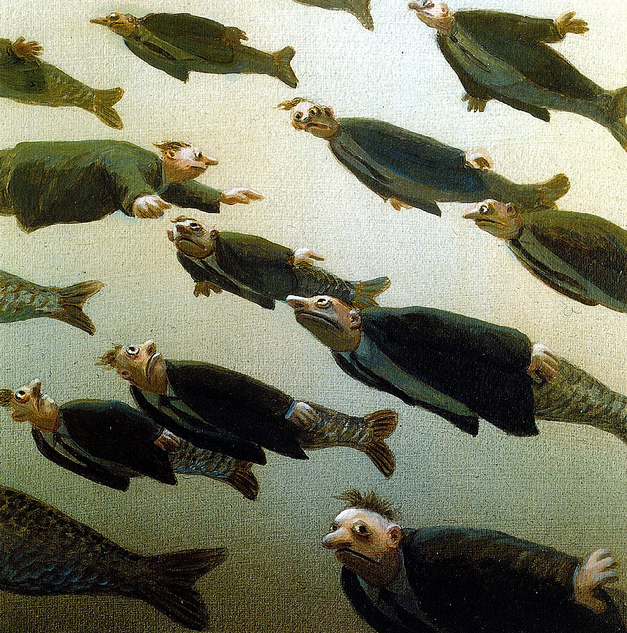 Michael Sowa school of fish
