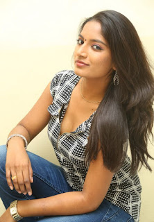 Actress Keerthi  Pictures in Jeans at TLLILKBL Press Meet  2
