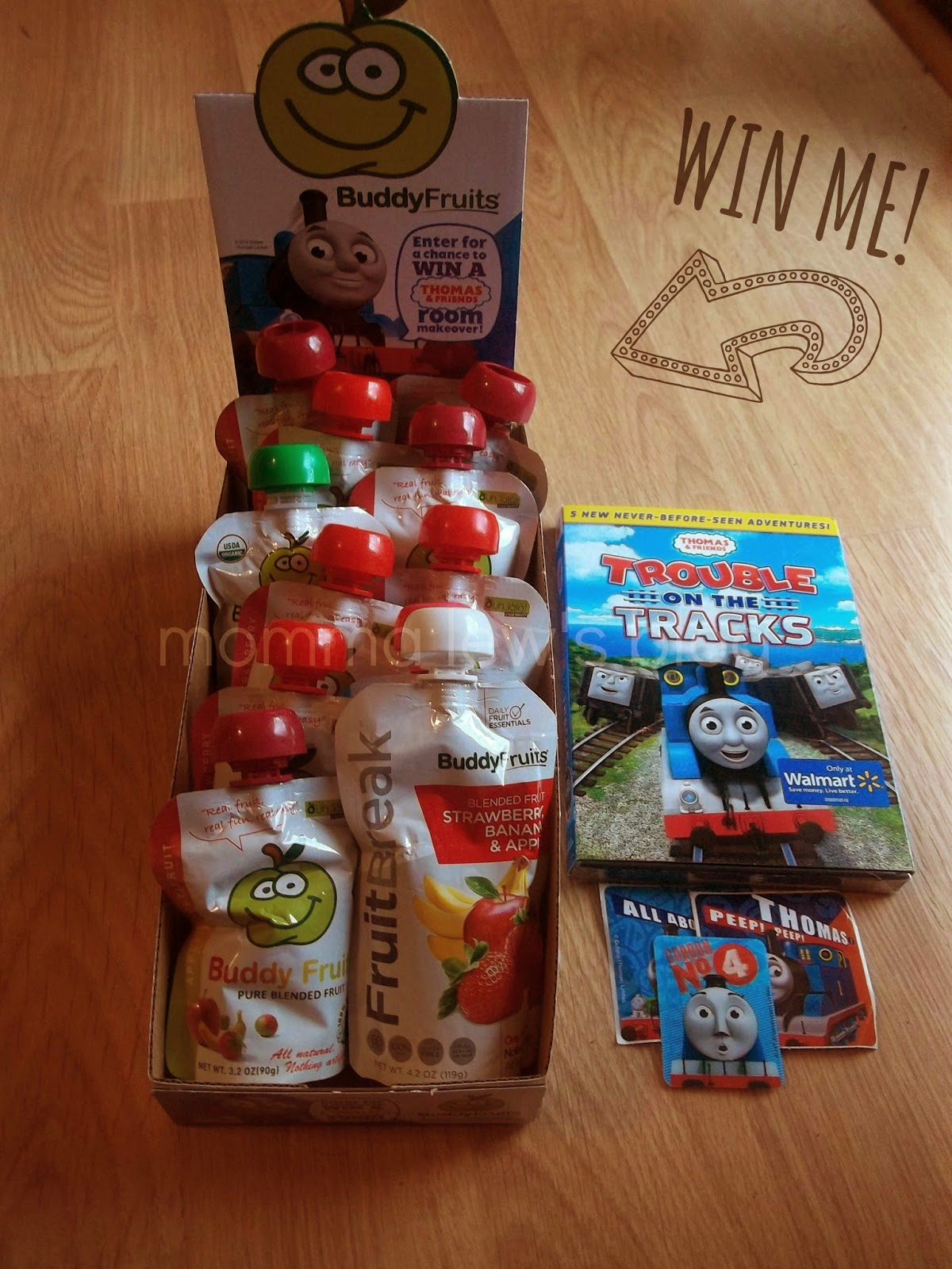 The Buddy Fruits And Thomas Friends Sweepstakes Ends 4 26