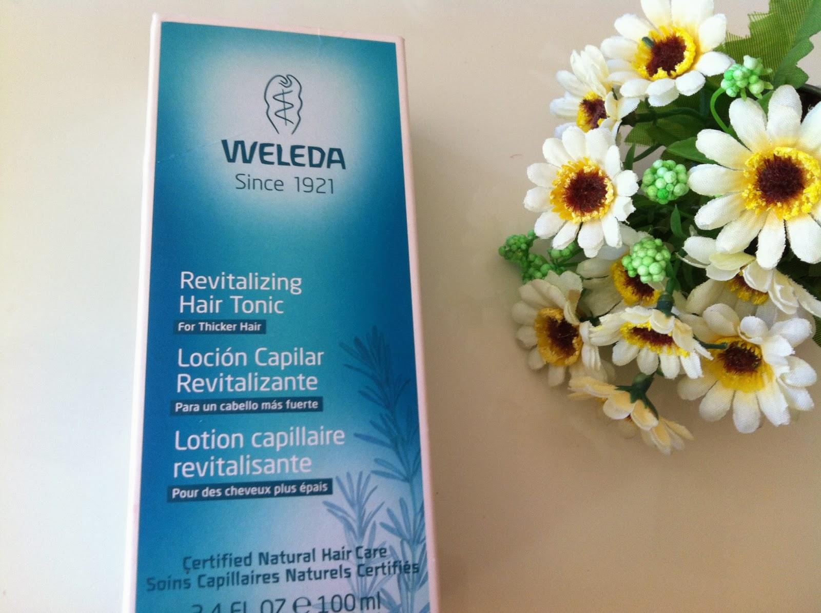 locion revitalizante cabello -romero weleda