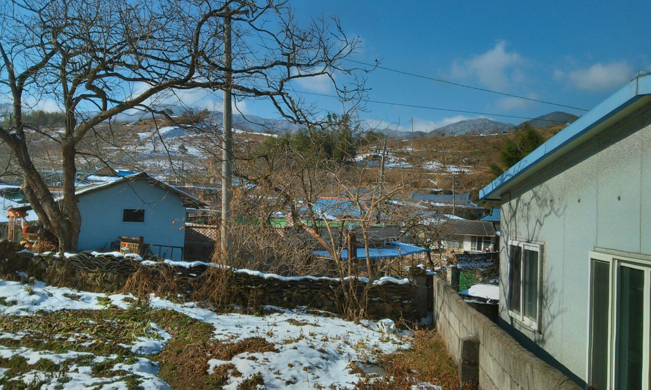 This Final Picture Is Of The Old Tradition Style Korean House They Also Have On Their Property