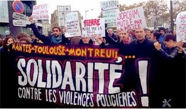 Solidarité entre toutes les victimes
