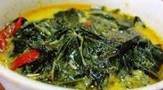 cara membuat, membikin, memasak sayur daun singkong enak, sedap, nikmat
