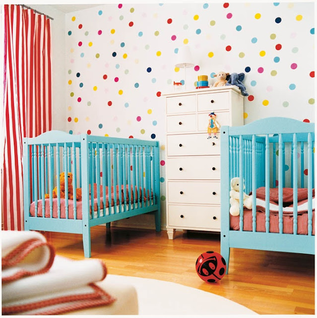 Polka Dot Nursery - hus&amp;hem