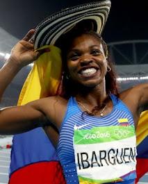 Caterine Ibargüen orgullo nacional
