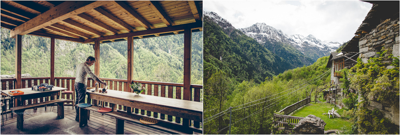 Pergpanorama und Terrasse