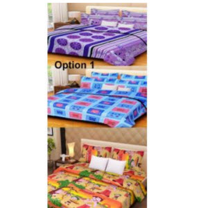 Shopclues: Buy HandloomWala Cotton Double Bed Sheet set of 3 With 6 Pillow Covers Rs. 648 Only – BuyToEarn