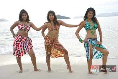 jvr 1167 Telugu Actress Sanjana Beach Hot Stills